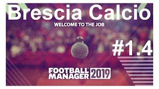 🔴Football manager 2019 ► Brescia Calcio.Зима-холода,трансферы!🤯🤪⚽ Версия #1.4