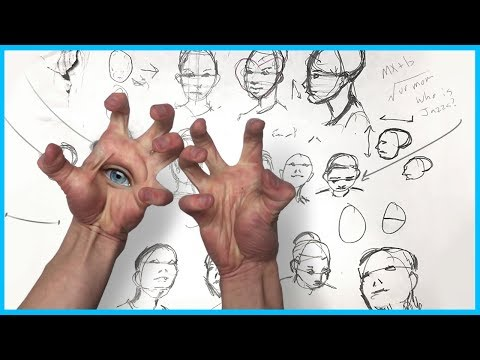 how-to-draw-a-face---any-angle-*trigger-warning*