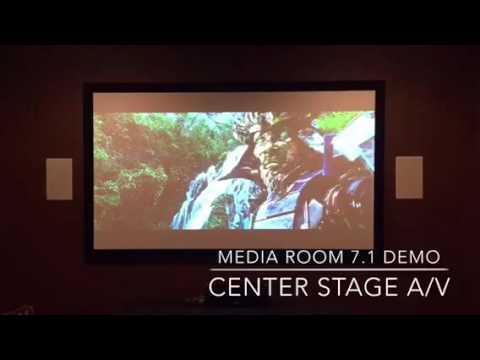 Media Room Demo, Best home theater installation, Frisco, TX