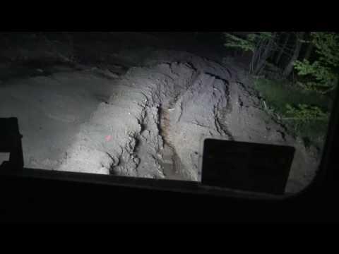 Стартонули Карпатский кордон одной машиной на ночь off-road 4x4