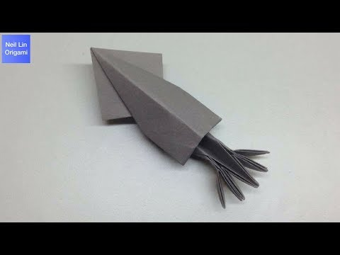 摺紙魷魚教學