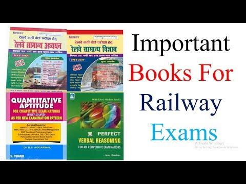 Best Book For Railway Exam Preparation | Railway Group D