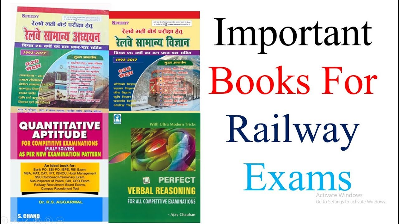 Books For Railway Exam Group D Pdf