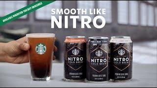 Starbucks Nitro Cold Brew - Smooth ...