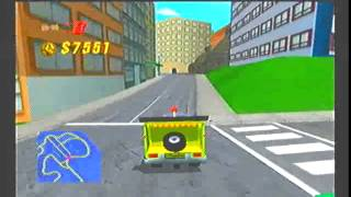 The Simpsons Road Rage Gamecube Gameplay part 1
