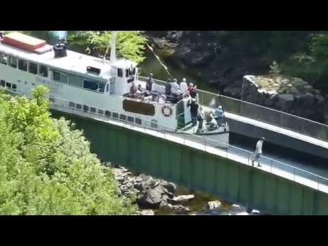 Kanalfahrt Dalsland 2014
