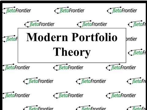 How we implement modern portfolio theory in investment portfolios