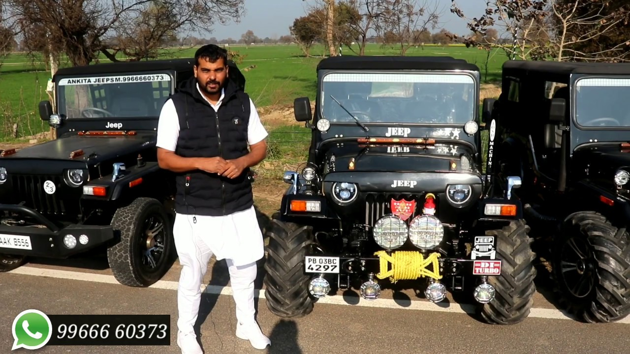 Modified Different Types Of Jeeps By Ankita Jeeps Youtube