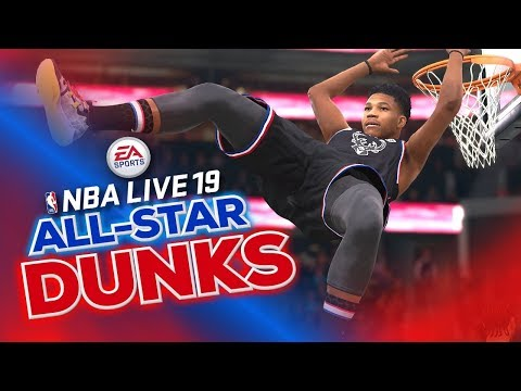 NBA Live 19 All-Star Dunks Compilation