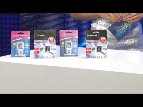 microSDHC-Speicherkarte 16 GB Class 10 inkl. SD-Adapter