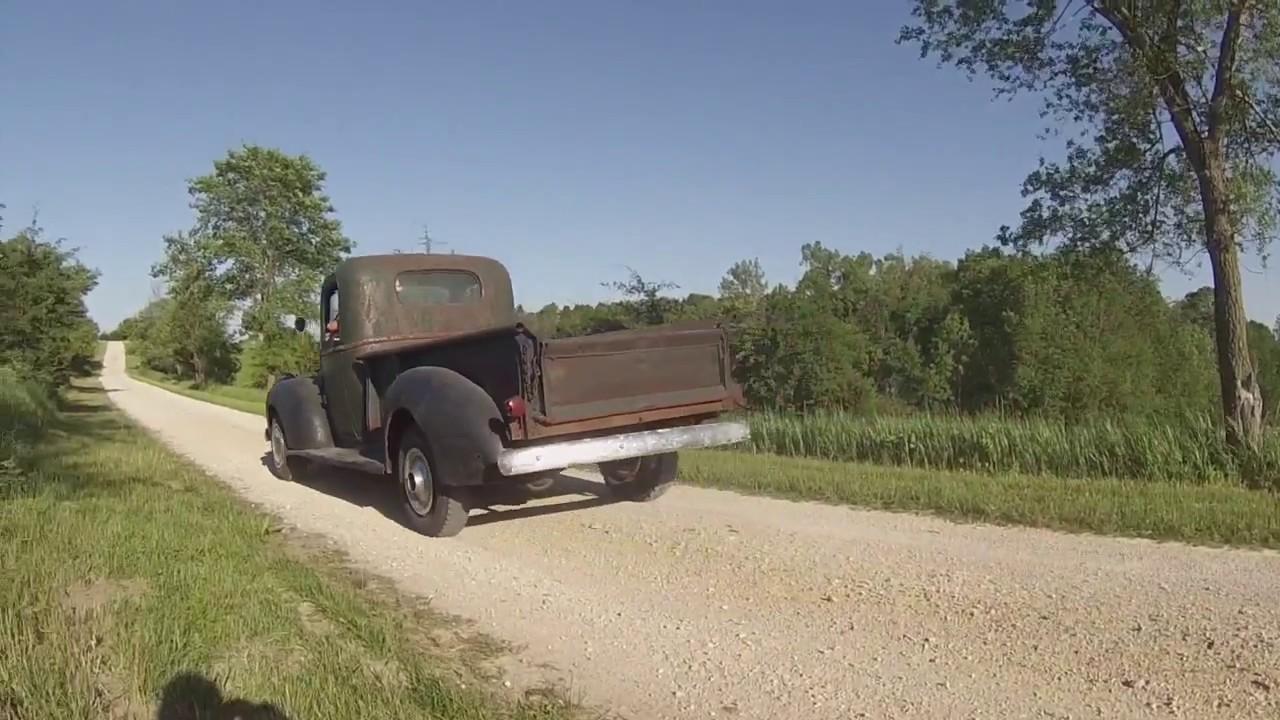 1941 Chevy pickup truck original survivor barn find daily driver ...
