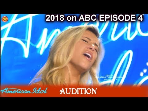 Adriana Bolton ear Shattering Whistle Tone   Audition American Idol 2018 Episode 4