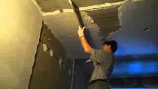 Штукатурка потолка по маякам(, 2012-10-20T13:24:54.000Z)