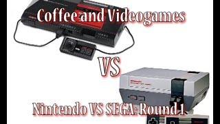 Nintendo Vs Sega Round 1! Nes Vs Master System: Coffee And Video Games