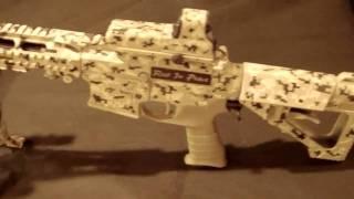 JOHN FITZEN R.I.P TACTICAL UTAHCUSTOMCAMO AR-15 IN CAMO