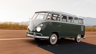 928 HP 1963 Volkswagen Type 2 De Luxe (Camper) - Forza Horizon 2