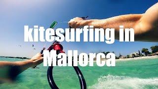 Kitesurfing in Pollenca - Mallorca