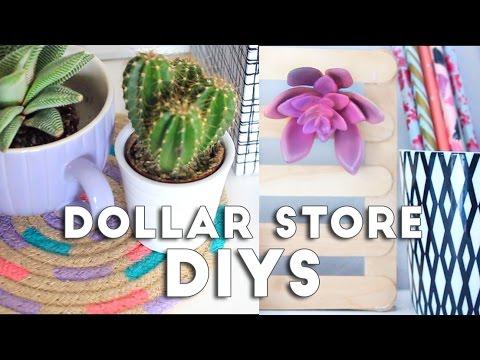 Dollar Store DIY Room Decor   Budget DIYs 2016