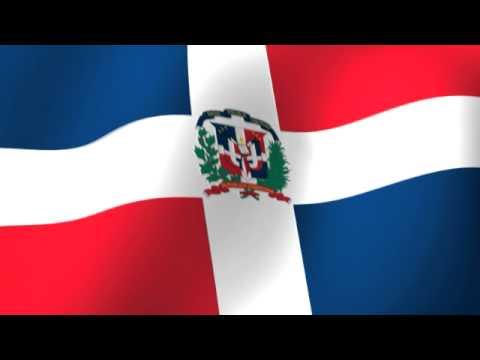 Flag of the Dominican Republic  bandera de Dominican Republic