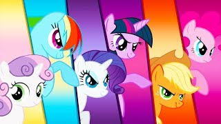 My Little Pony: Harmony Quest - Fluttershy Use Ponies Special Powers Vs Boss - Fun Pet Kids Games