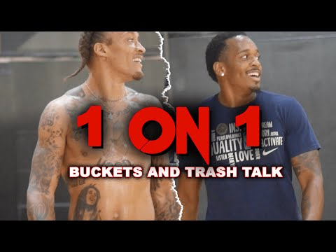 Michael Beasley, Barry Brown, Freddie Gillespie 1 on 1 session with TRASH talk!