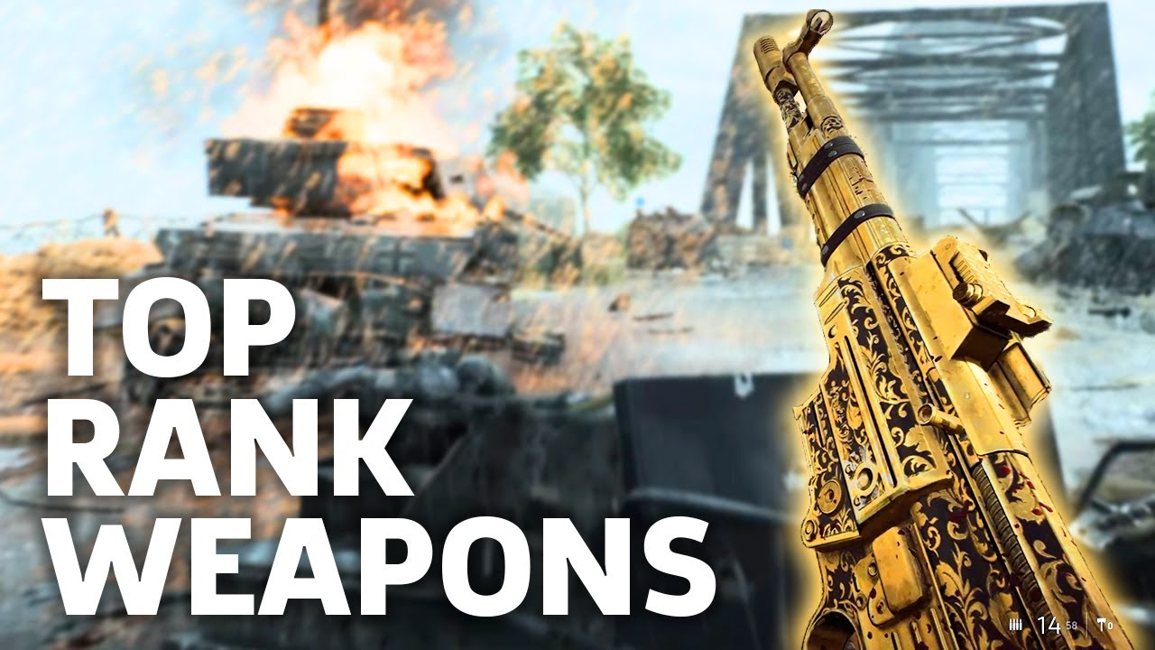 Battlefield V - Top Rank Weapon Unlocks For All Classes