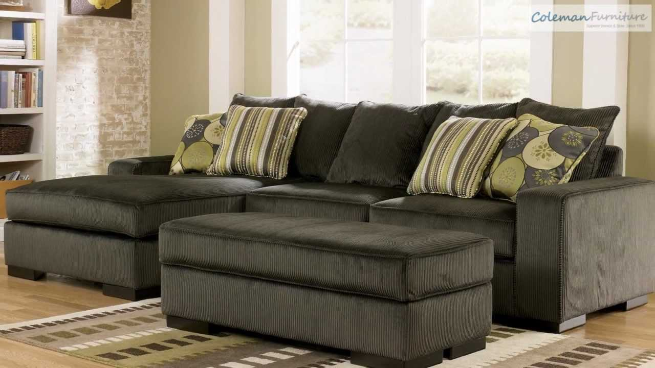 Freestyle Pewter Living Room Collection from Signature