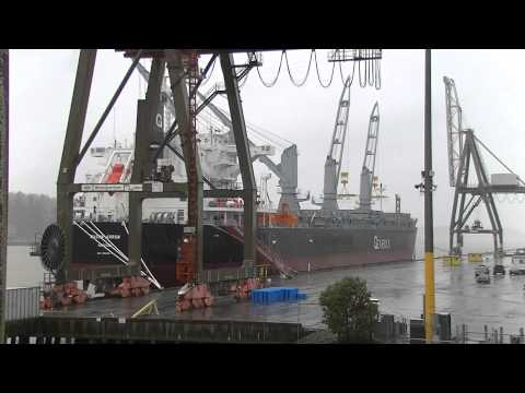 Port Olympia Proppants Shipment
