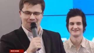 Гарик Харламов и др. блогеры на встрече с Медведевым