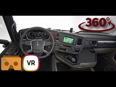 Scania S 500 VR 360 Interior 4K - YouTube