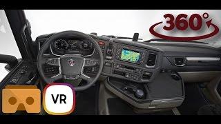 Scania S 500 VR 360 Interior  4K