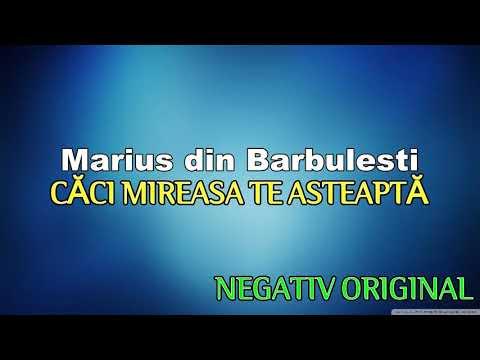 Marius de la barbulesti - Căci mireasa te asteapta negativ