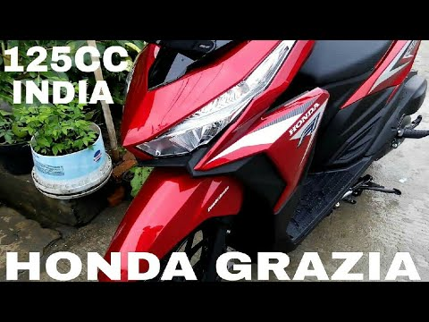All New Honda Grazia 125 Cc Scooter Launching Soon In India Youtube
