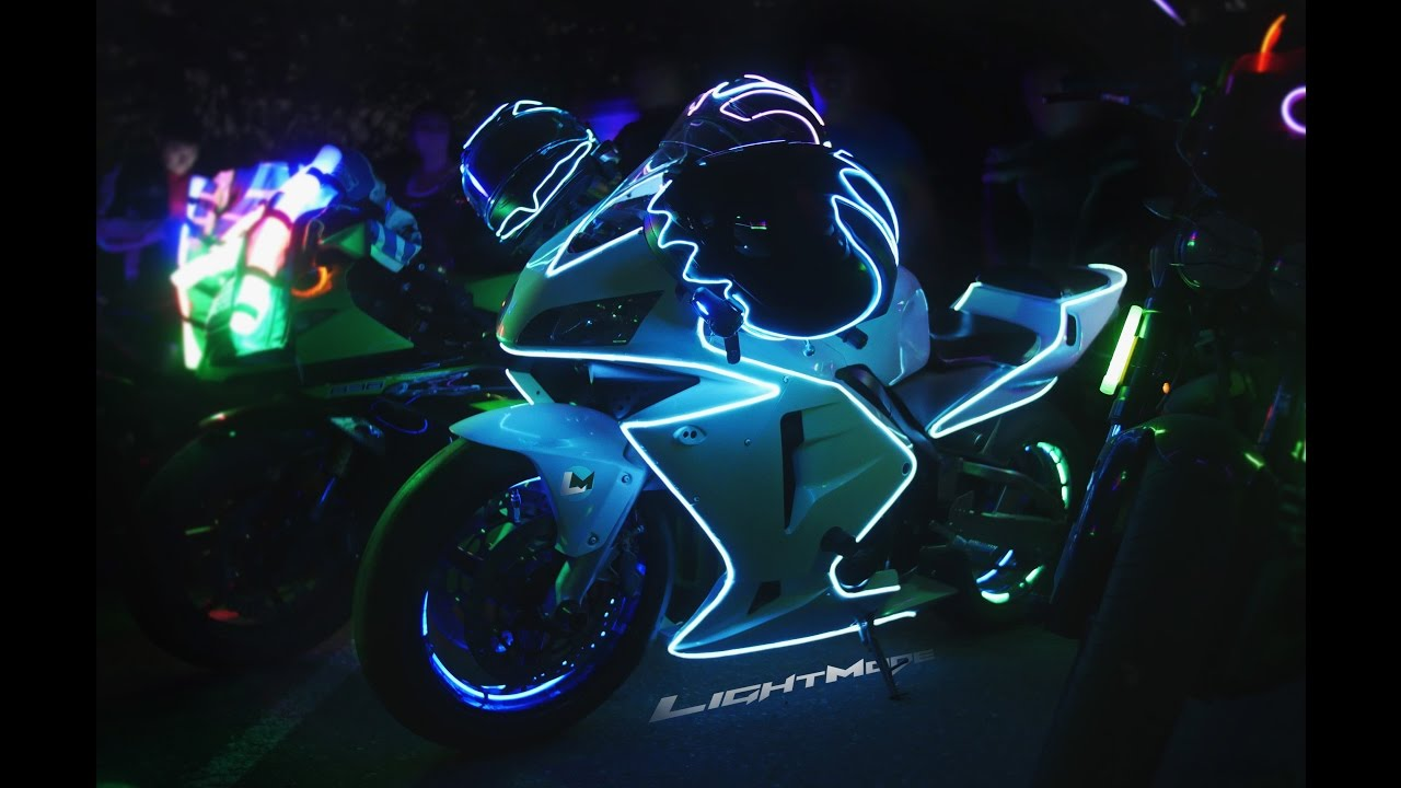 Glow Ride 2016 (4K) - YouTube