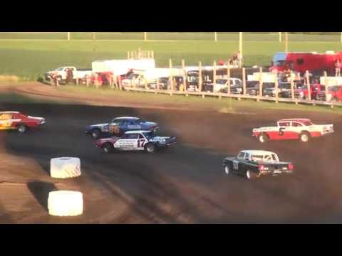 "American Iron Racing Series ""A.I.R.S."" feature Benton County Speedway  6/25/17"