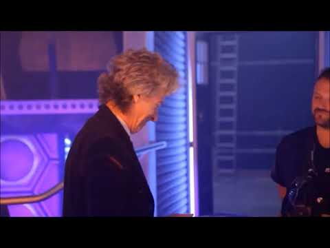 Doctor Who - Peter Capaldi's Last Day On Set Of Doctor Who Filming