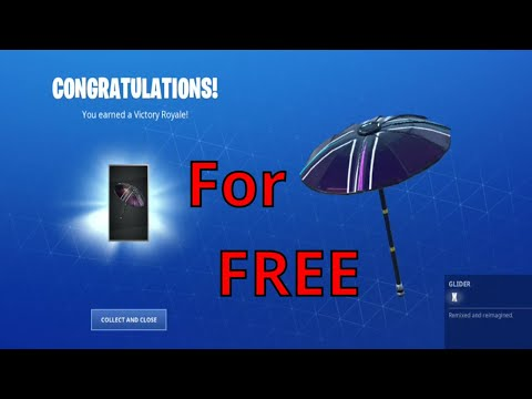 How To Unlock X Umbrella In Fortnite Free Season 10 Umbrella