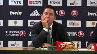 Euroleague Post - Game Press Conference: Panathinaikos OPAP Athens vs Maccabi FOX Tel Aviv