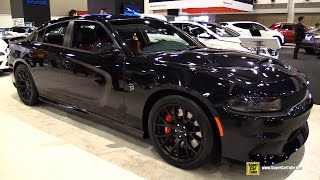 2015 Dodge Charger SRT Hellcat - Exterior and Interior Walkaround - 2015 Ottawa Gatineau Auto Show