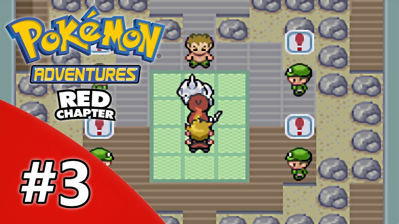 pokemon adventure red chapter nuzlocke challenge part 3 brock the shirtless and mt moon