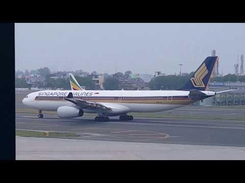 Various Aircrafts' movements at Terminal-3 (T3) of New Delhi International Airport IGIA