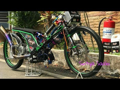 WOW, Yamaha MIO 500cc NOS TURBO Thailand Drag Bike