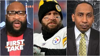 Marcus calls out Stephen A.'s Steelers about their QB plans | First Take