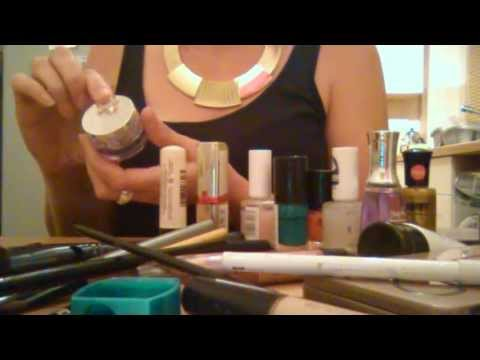 ASMR Make-up,Brushes,Nail varnish sort,Rummage,Brushing.