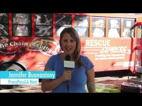 Alison Eastwood of Eastwood Ranch Honors Rescue Express Celebrating it's 5000th Animal Rescue