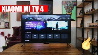 Xiaomi Mi TV 4 - 4K HDR 55 inch LED Unboxing and Hands On