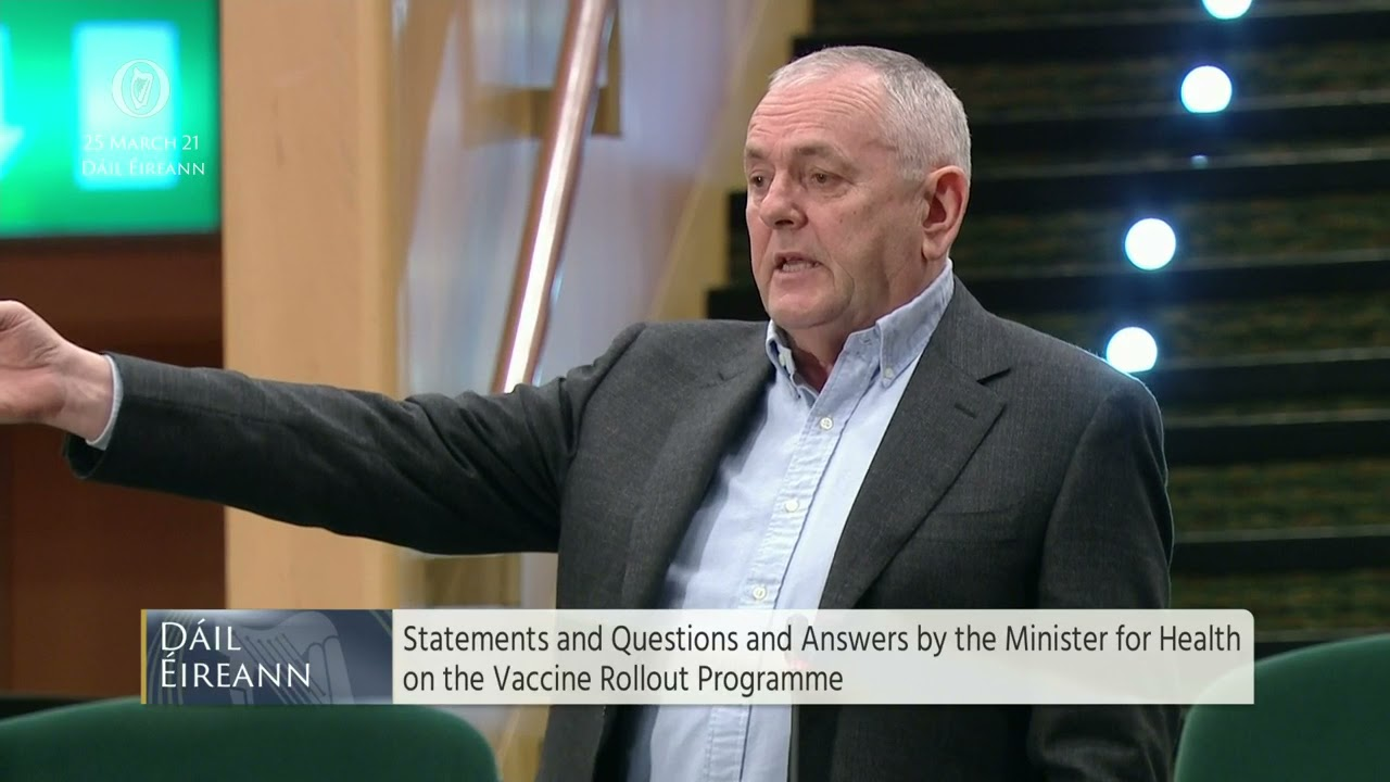 Deputy John McGuinness - Questions and Answers by the Minister for Health on the Vaccine Rollout
