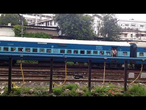 Coimbatore LTT Express entering Pune Junction