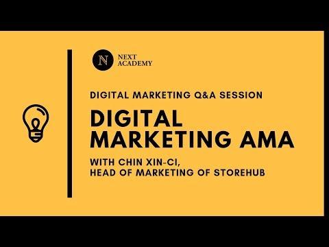 Digital Marketing AMA