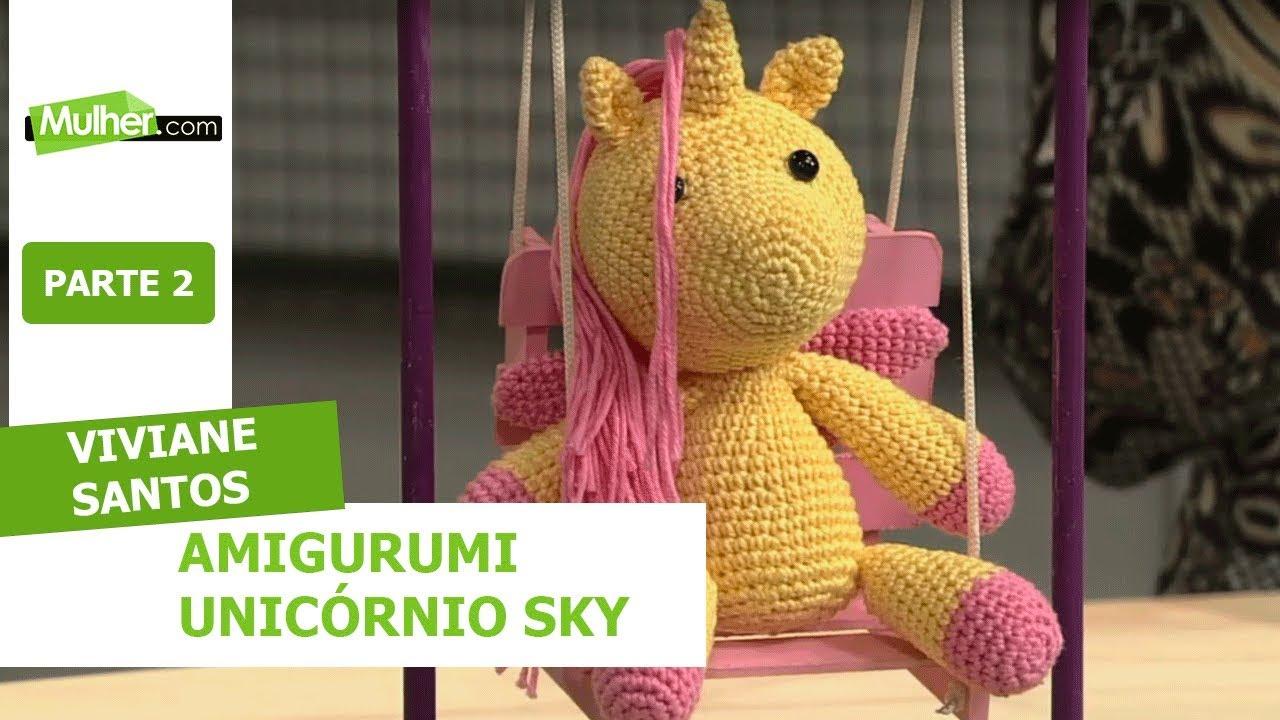 Unicórnio alado | Amigurumi, Brinquedos de crochê, Alado | 720x1280